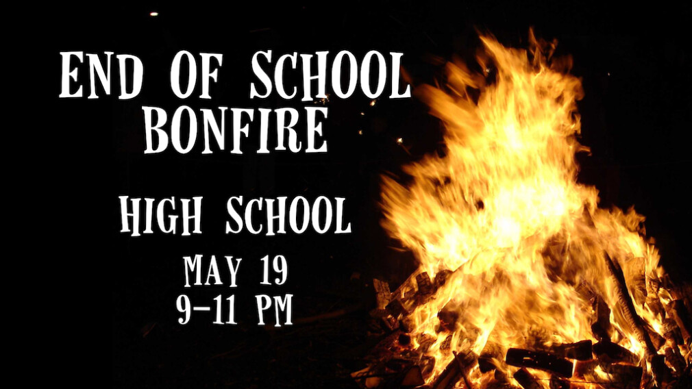 End of School Bonfire