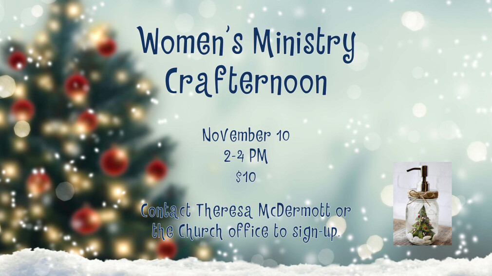 Women's Ministry Crafternoon
